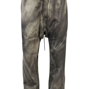 Antonio Barragan Leather Drop Crotch Pant