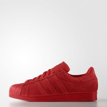 adidas Superstar Shoes - Red | adidas US