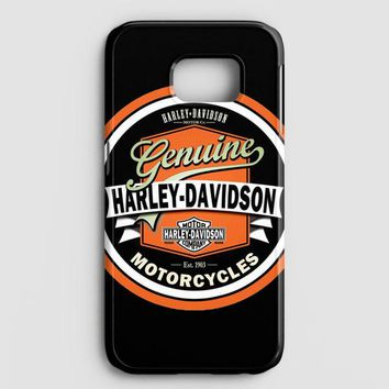 Harley Davidson Motorcycles Typography Art Samsung Galaxy Note 8 Case