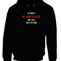 My Name Is Blurryface Twenty One Pilots Hoodie