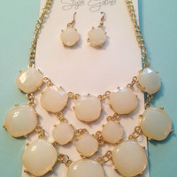 Bubble Necklace and Earring Set