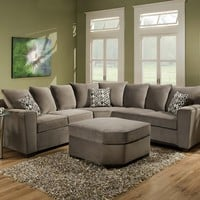 Simmons Upholstery Roxanne Sectional