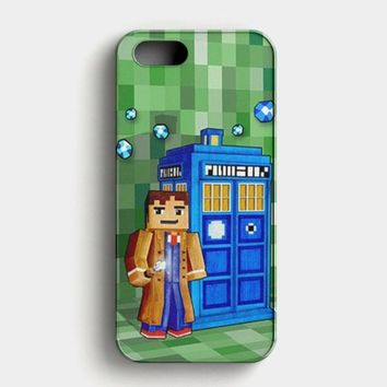 Tardis Doctor Who Little Prince iPhone SE Case