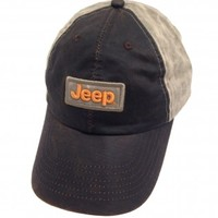 Jeep Weathered Wax Cloth Cap | Hats & Caps | Jeep Apparel | My Jeep Accessories
