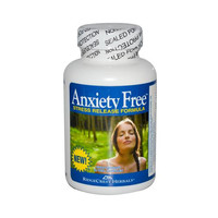 Ridgecrest Herbals Anxiety Free Stress Relief Formula (60 Veg Capsules)