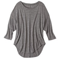 Pure Energy Women's Plus-Size 3/4-Sleeve Drop-Shoulder Tee - Assorted Colors