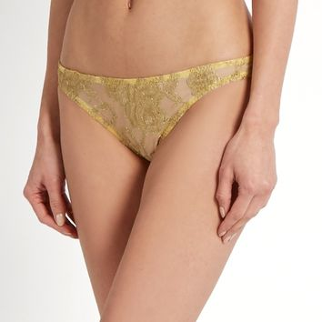 Gaia Peekaboo lace briefs | Coco De Mer | MATCHESFASHION.COM US