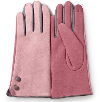 Touch Screen Warm Lace Gloves