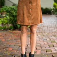 Feel The Love Skirt, Camel