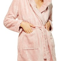 Topshop Kimmie Hooded Short Robe | Nordstrom