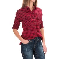 Seven7 Flap-Pocket Shirt - Long Sleeve (For Women)