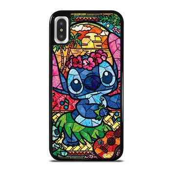 LILO & STITCH STAINED GLASS iPhone X Case