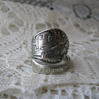 Spoon Ring Little Red Riding Hood Twilight Saga by TheBeadLadies