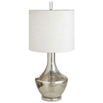 Grande Luxe Glass Lamp