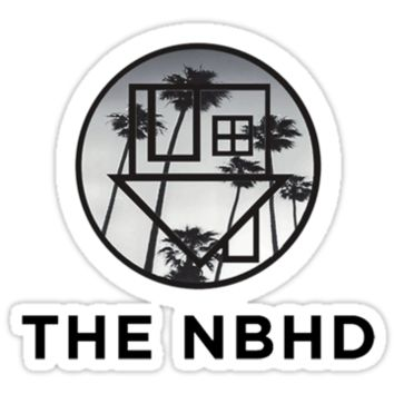 The Neighbourhood Palm Tree Print The NBHD Band Shirt by ninagi