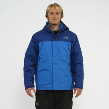 The North Face Men's 3-in-1 'Mountain Light' Jake Blue/ Bolt Blue Triclimate Jacket