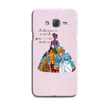 Cinderella Quote Disney Samsung Galaxy J7 2015 | J7 2016 | J7 2017 Case