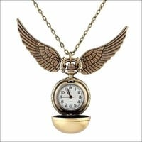 Harry Potter Golden Snitch Watch, Necklace