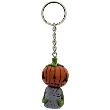 Boogily Collection - Pumpkin Billy Head Key Chain