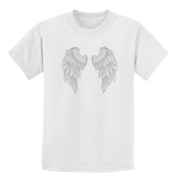 Epic Angel Wings Design Childrens T-Shirt