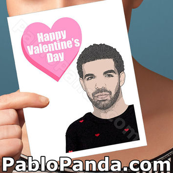 Funny Valentine Card | Drake | Humorous Card Friend Valentine Valentines Gift Best I Ever Had Valentines Day Cards Cards For Men Bff Gift