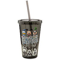 Mickey Mouse The Twilight Zone Tower of Terror Tumbler with Straw | Disney Store