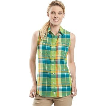 Woolrich Sunbury SL Madras Shirt - Women's