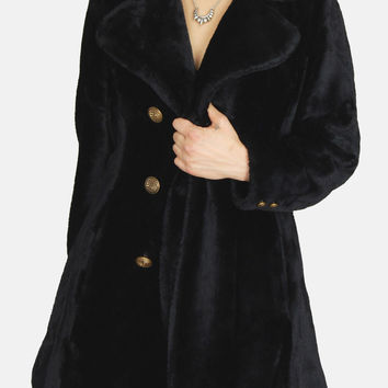 Night Owl Faux Fur Jacket