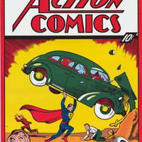 Superman Action Comics #1 Poster 24x36