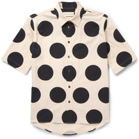 Marni - Printed Cotton-Poplin Shirt | MR PORTER