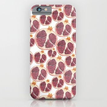 pomegranate iPhone & iPod Case by Austeja Saffron