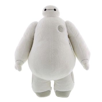 "Disney Parks Big Hero 6 Baymax Nurse 15"" Plush New with Tags"