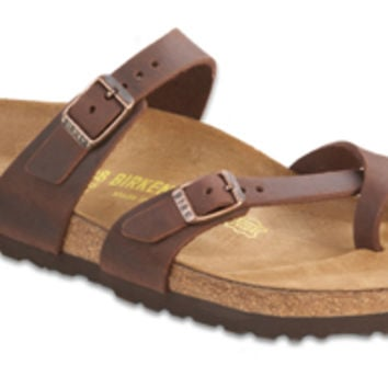 Mayari Habana Oiled Leather Sandals | Birkenstock USA Official Site