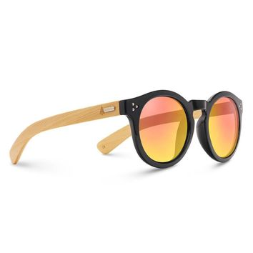 Wooden Sunglasses // Rina 51