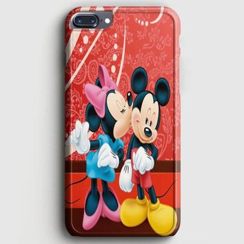 Minnie Mouse Kiss Mickey Mouse iPhone 8 Plus Case | casescraft