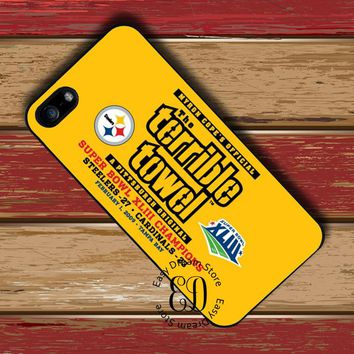 PITTSBURGH STEELERS TERRIBLE TOWEL case for HTC M7 M8 M9 M10 Sony Z3 Z4 Z5 LG G4 G5 G6 Xiaomi Mi3 Mi4 Mi5 Redmi note 2 3 4 4X