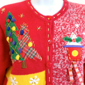 Tacky Christmas Sweater Small