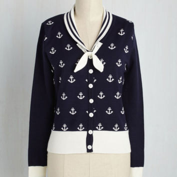 Sailor-Made Cardigan