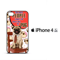 Pug Life Y2711 iPhone 4 | 4S Case