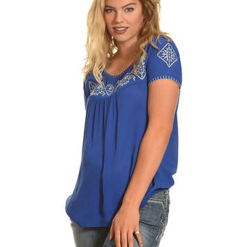 Angel Ranch Women's Medallion Top