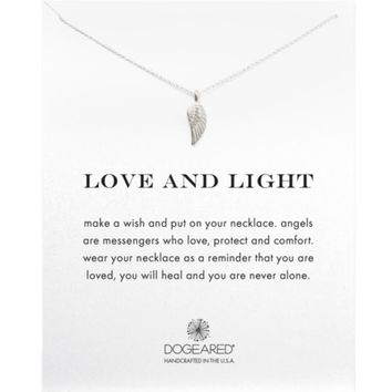 """Dogeared Love & Light Angel Wing Necklace, 18""""   Bloomingdales's"""
