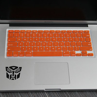 "Intense Orange Keyboard Cover for ALL US Macbooks 13"" 15"" 17"""