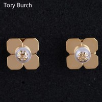 Tory Burch New fashion personality earring women golden