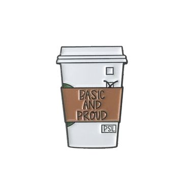 Basic & Proud PSL Enamel Pin