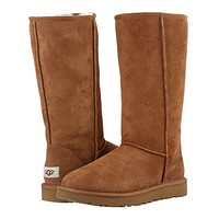 """UGG"" Women Fashion Wool Snow Boots simple high boots G"