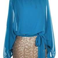 Sparkle Until You Shine in Teal - New Arrivals