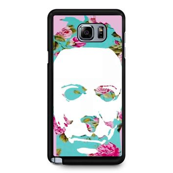 Floral Michael Myers Pop Art Samsung Galaxy Note 5 Case