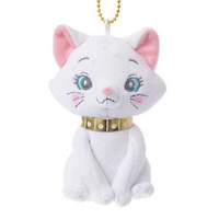 Duchess Plush Keychain Badge Lovely ❤ Disney Store Japan The Aristocats