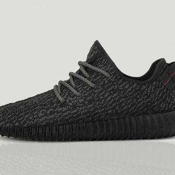 adidas x Kanye West Yeezy Boost 350 (Pirate Black / Pirate Black / Pirate Black)