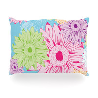 "Laura Escalante ""Summer Time"" Oblong Pillow"